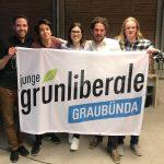 Kandidaten für Wahlen 2019 der Jungen Grünliberalen Graubünden